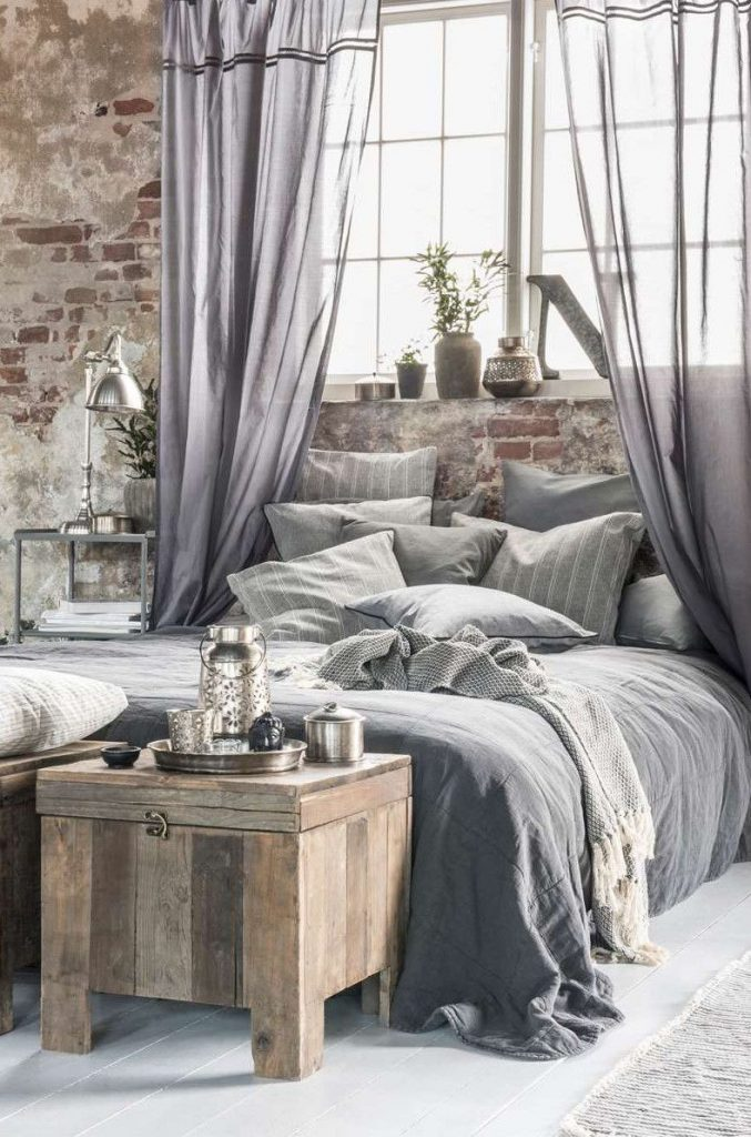 vintage-grey-bedroom