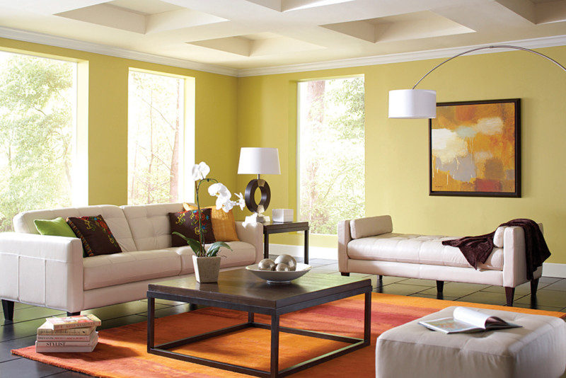 living-room-painted-walls-ceiling