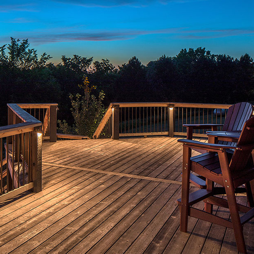 Deck lighting ideas are plentiful, and outdoor lighting can definitely turn your average outdoor patio into something remarkable while providing safety at night and an inviting atmosphere. With a well-designed lighting plan, you can stay outdoors and enjoy the evening long after the sun has gone down.
