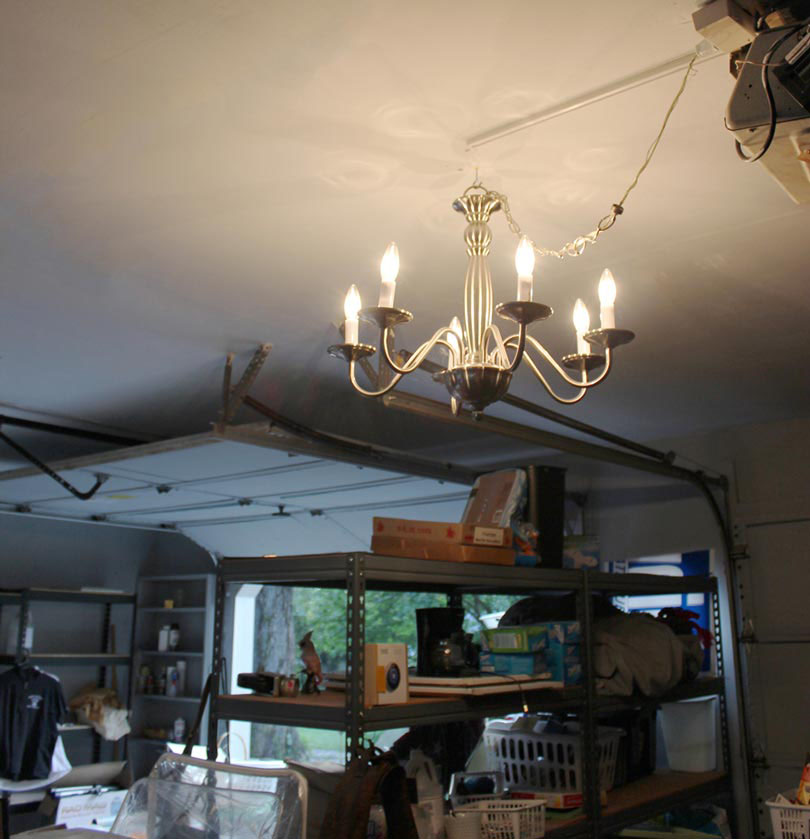 garage-chandalier-light-ideas
