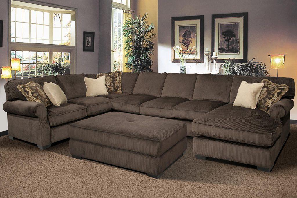 brown-sectional-sofa