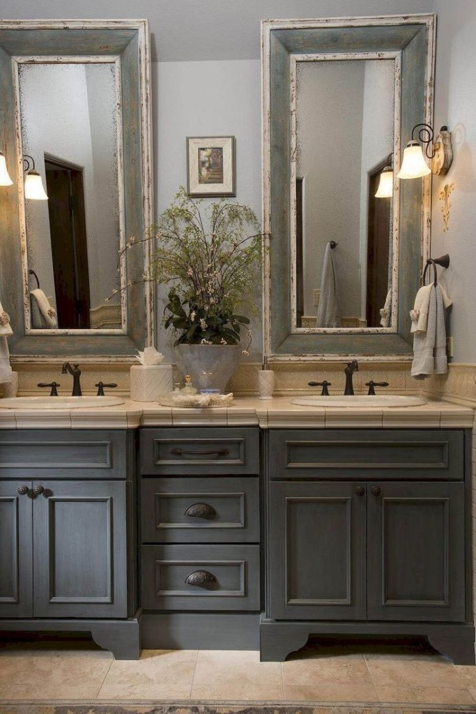 rustic-grey-bathroom