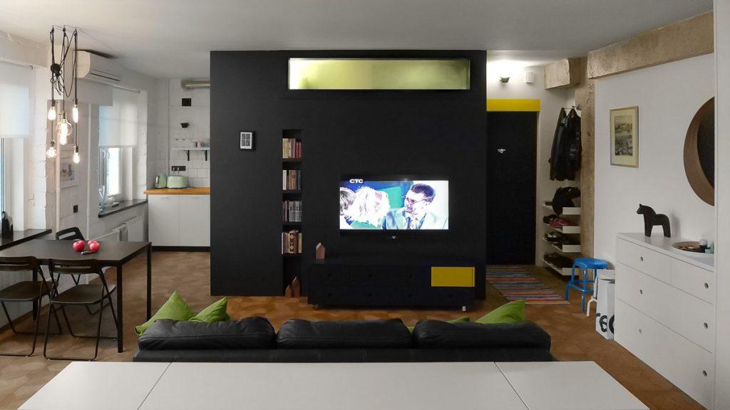black-green-condo