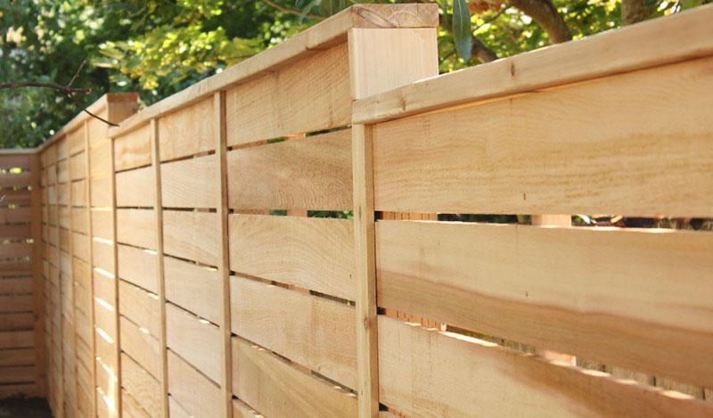 horizontal-wood-fence-ideas