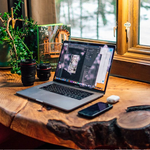Whether you're running a business from home or you just use your desk for checking email and writing, your home office has the distinct advantage of being a blank canvas. So why stick with a bland desk, when you can have a home office that is far more satisfying to look at and a lot more productive to use? Here are 9 ideas for desks that offer a little something more, from built-in storage to creative materials.