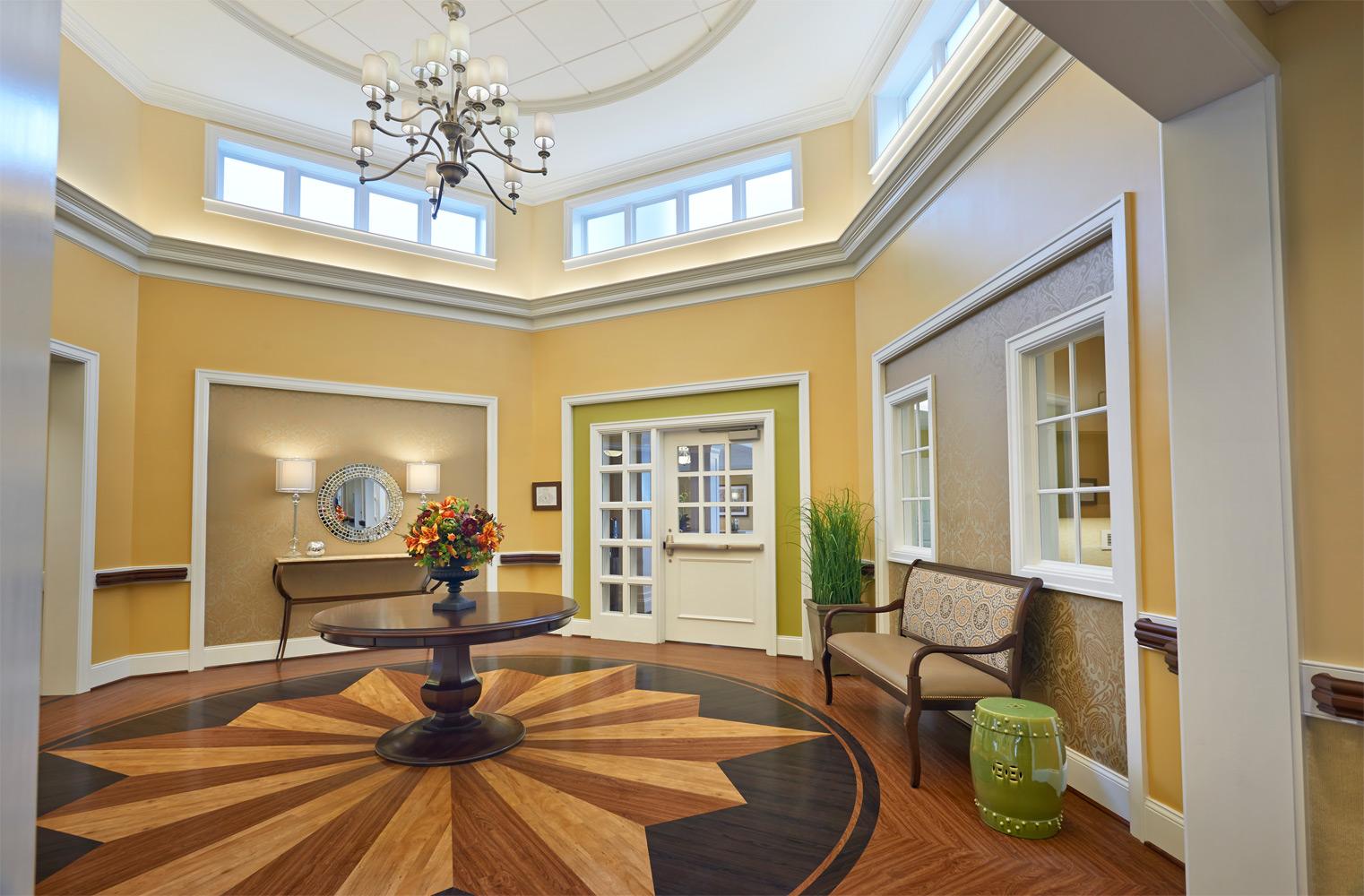 Brandermill Woods Skilled Care Living Room Image