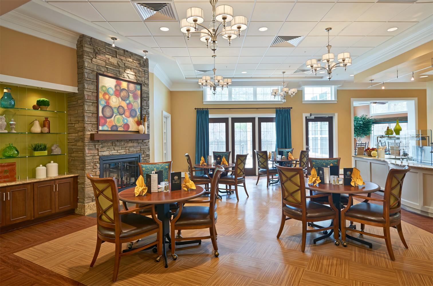 Brandermill Woods Skilled Care Dining Room Image