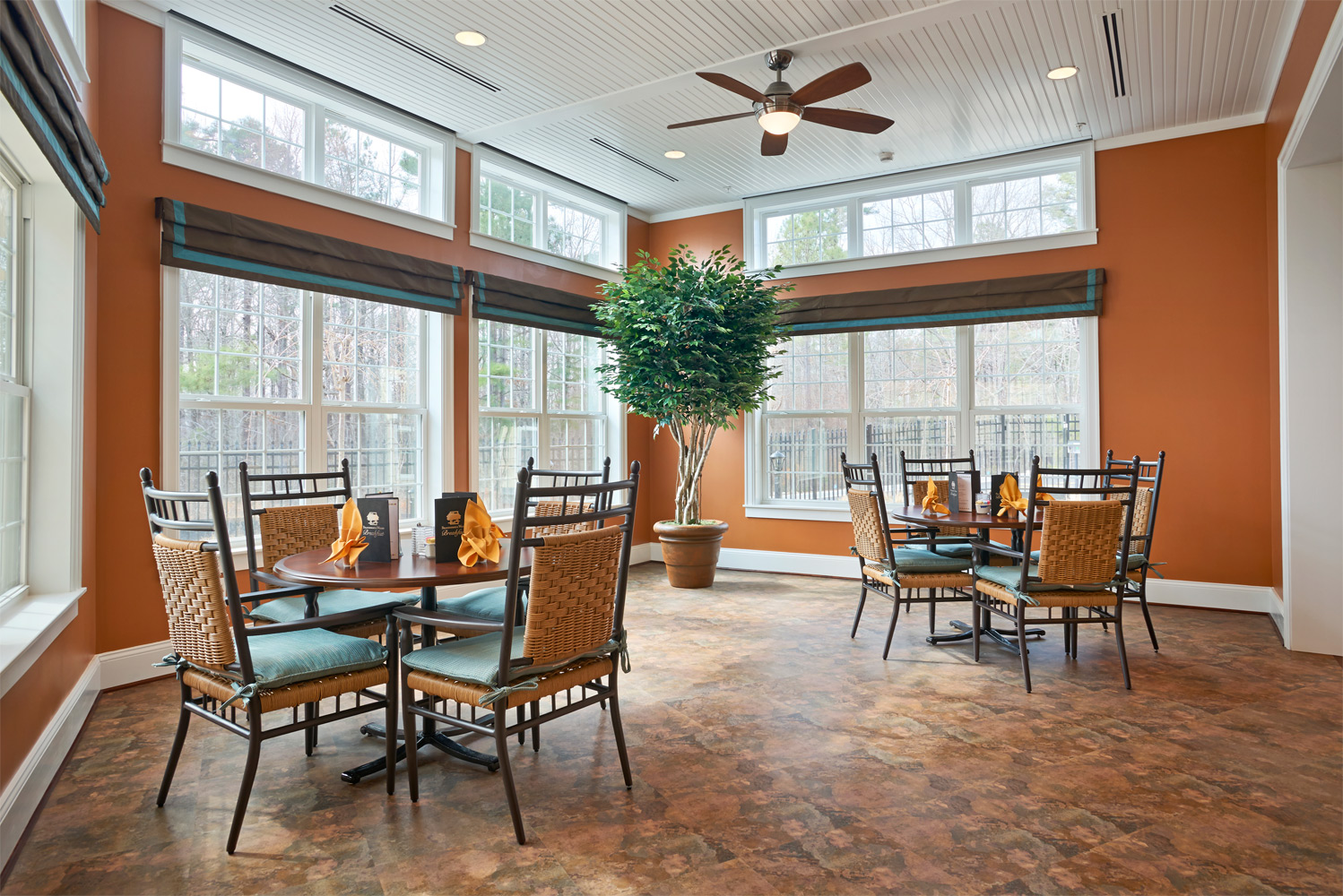 Brandermill Woods Skilled Care Dining Area