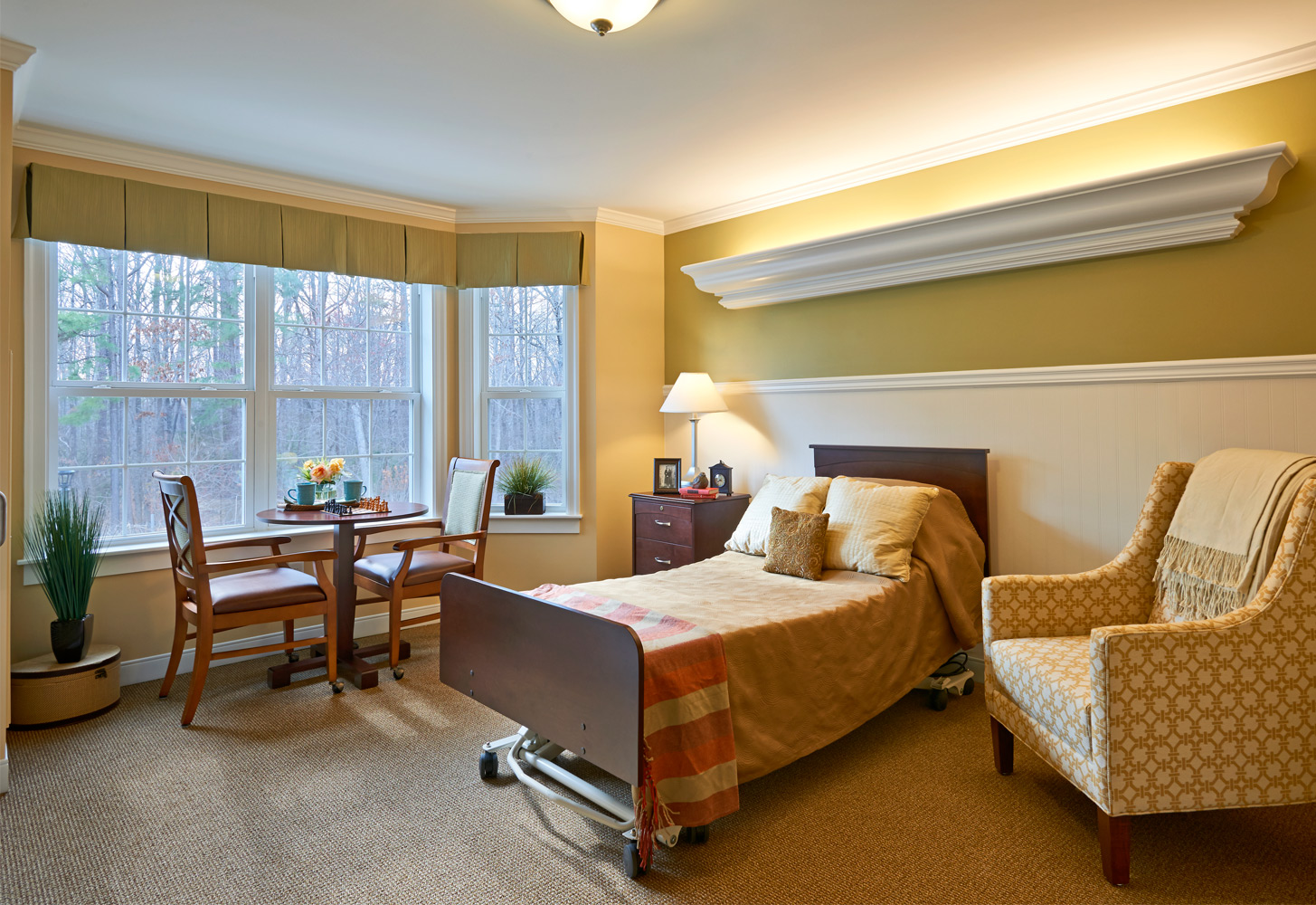 Brandermill Woods Skilled Care Bedroom Image