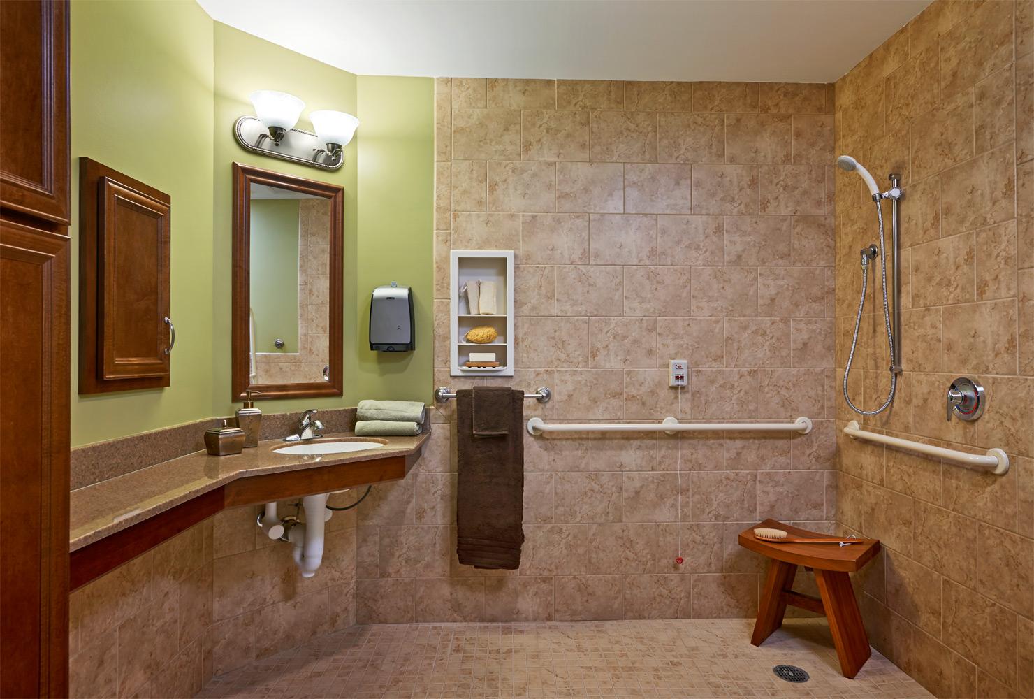 Brandermill Woods Skilled Care Bathroom Photo