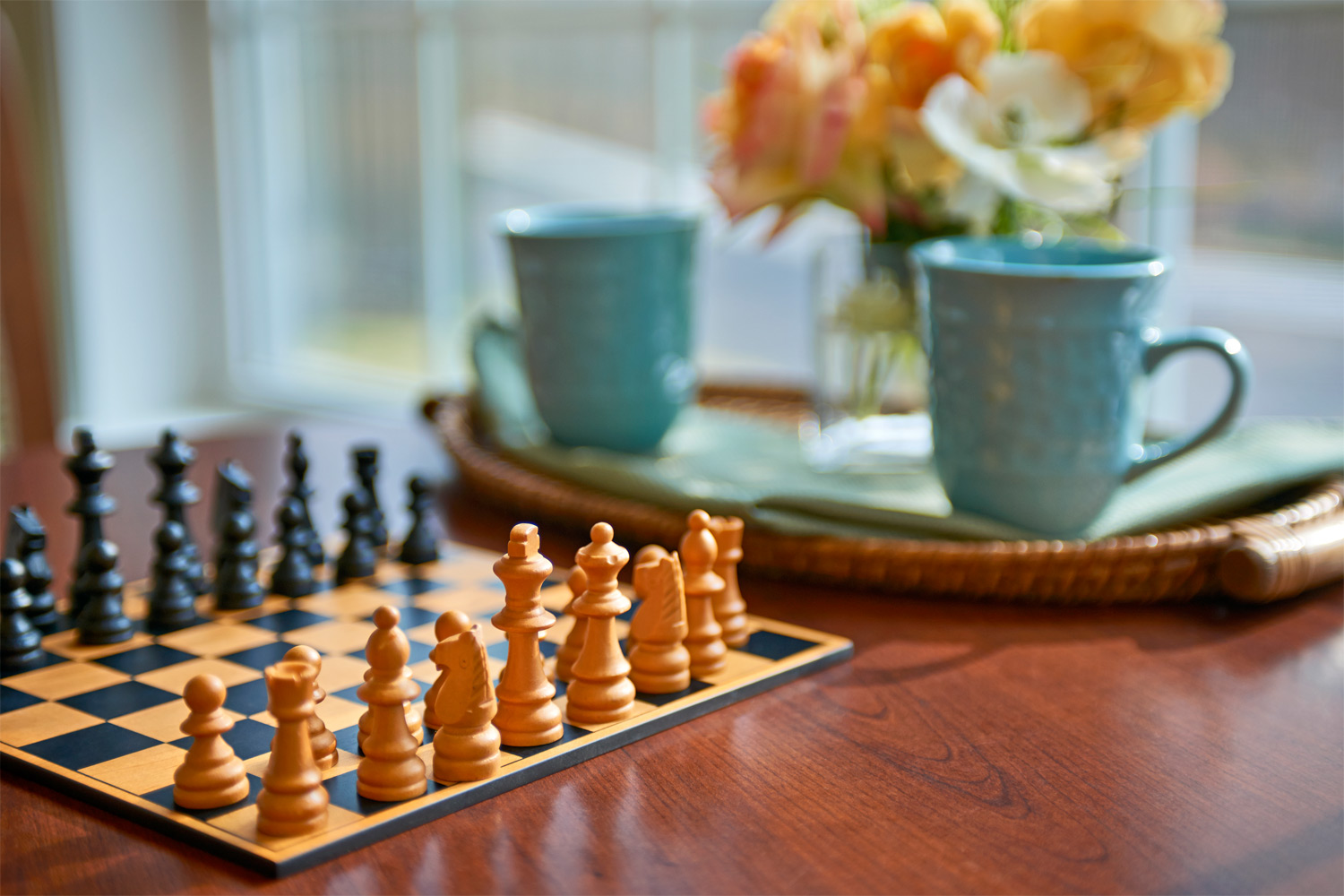 Brandermill Woods Skilled Care Chess Board