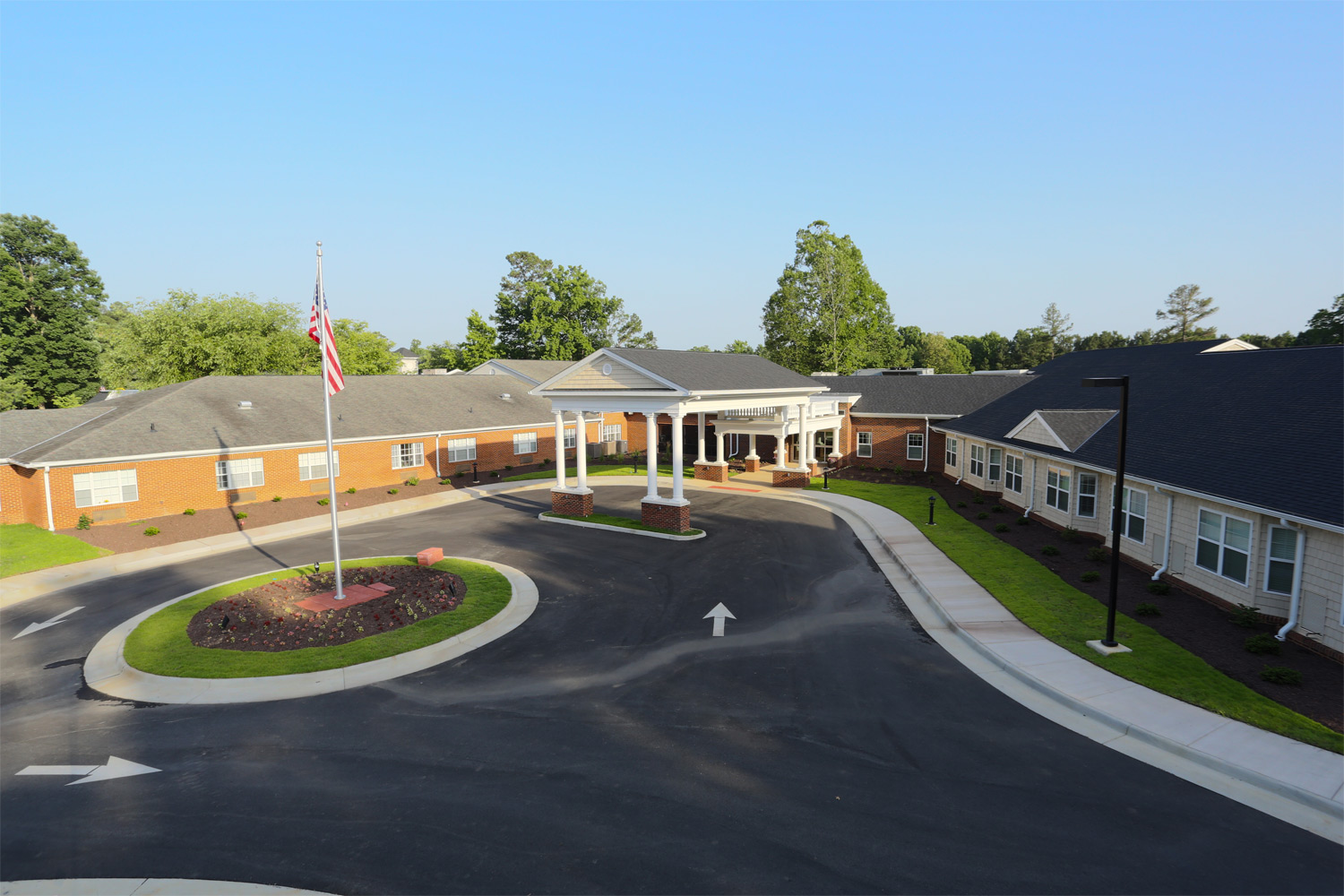 The Haven Entrance, Brandermill Woods Skilled Care