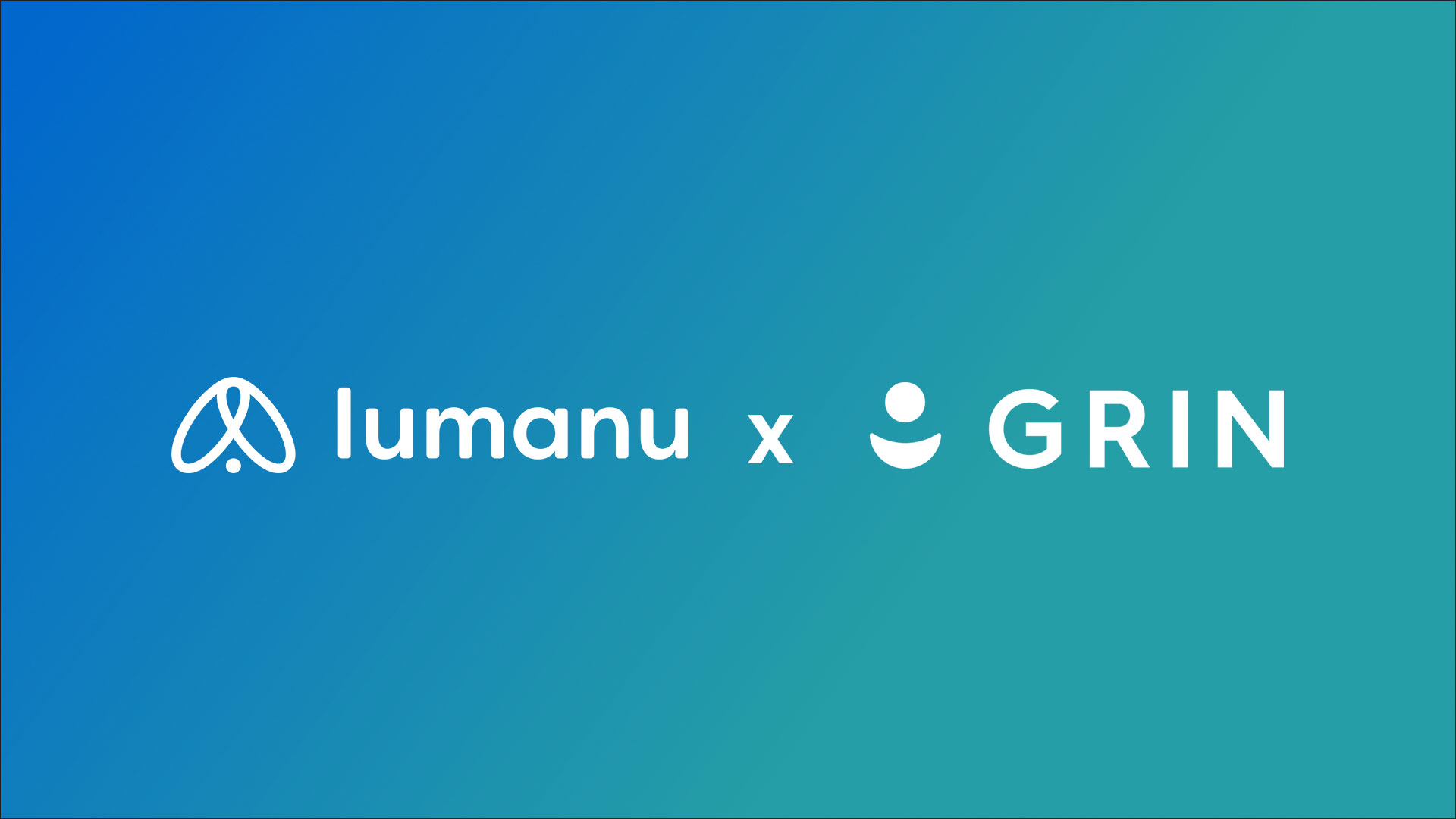 Lumanu announced technical integration with GRIN, catapulting to companies to become the most powerful solution for direct-to-consumer brands to scale influencer marketing.