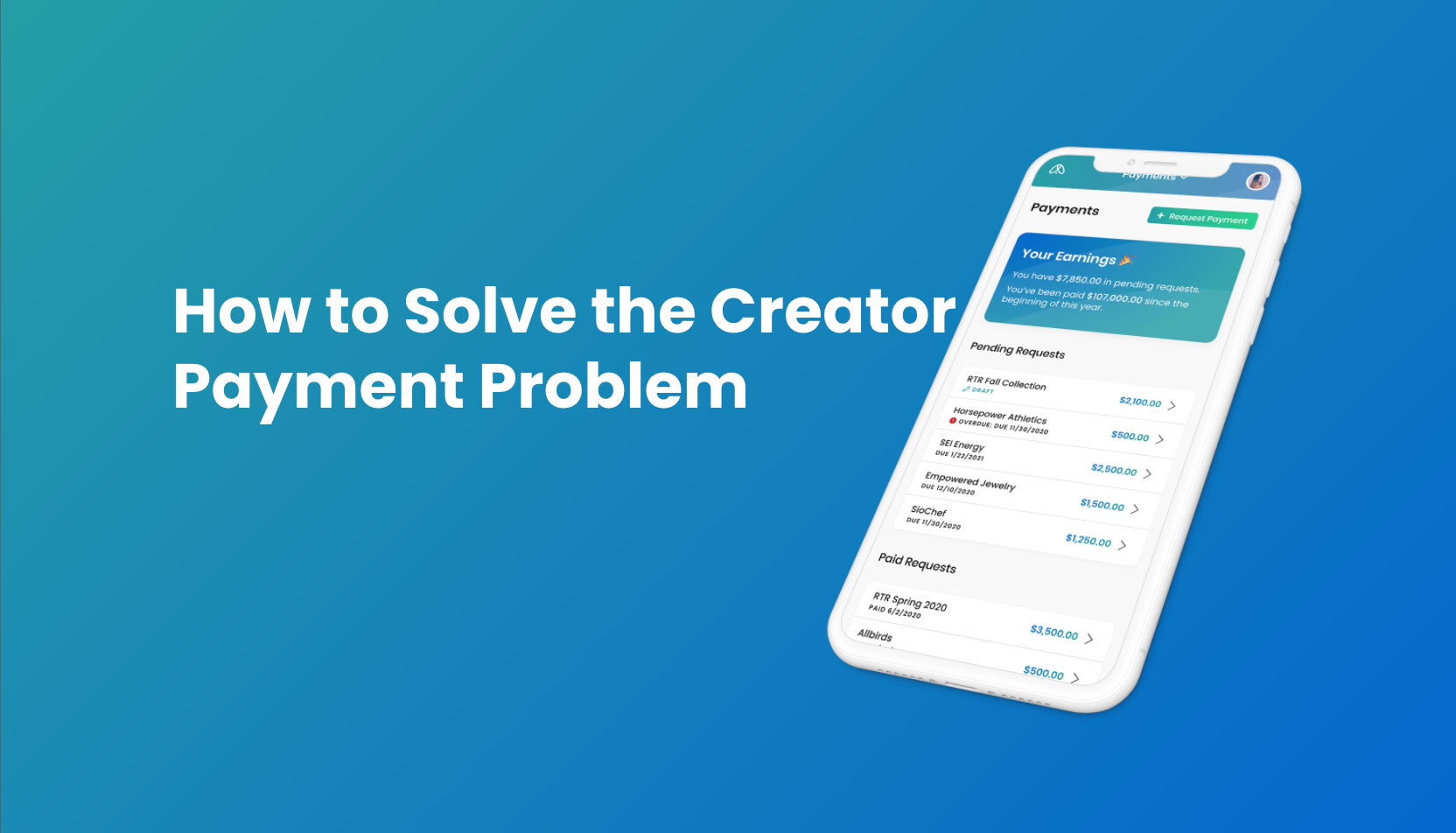 Getting paid on time is incredibly important for all digital content creators. Yet, the processes associated with creator payments are some of the most frustrating parts of the business. Lumanu solves these issues and provides the lowest fees in the industry.