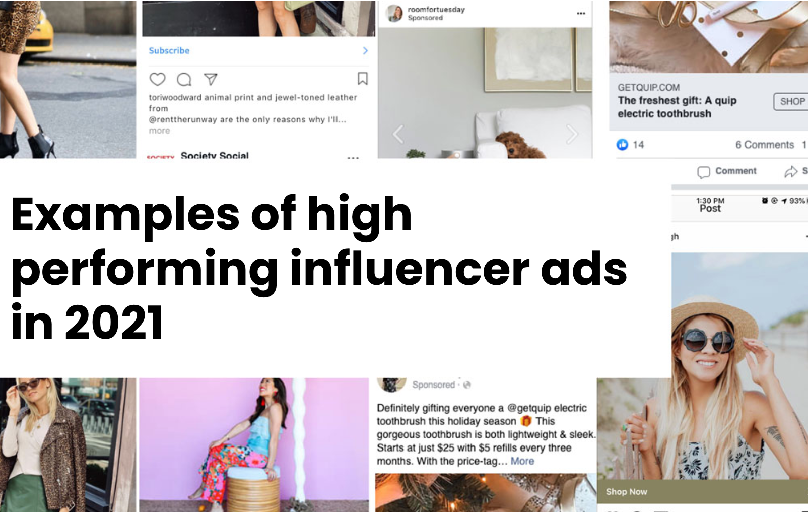 What high performing influencer ads look like in 2020 and why they were successful.
