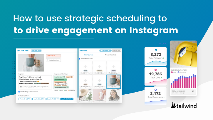 Strategic scheduling helps you make effective use of your time, catch followers at the best moments, and skyrocket post interactions. Optimize your Instagram channels by scheduling posts ahead of time to grow engagement and brand awareness.