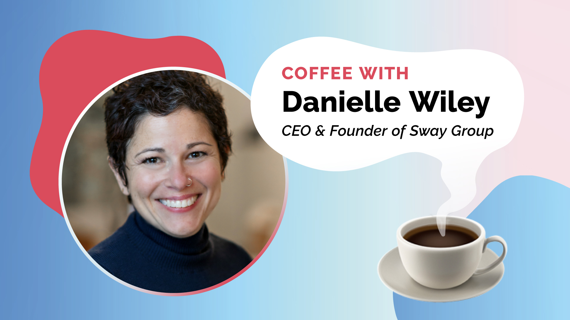 If you ask Danielle Wiley, being a CEO may arguably be easier than being a content creator. As the founder and CEO of Sway Group, an industry-leading influencer marketing agency, Danielle has worked with top brands like Dove, eBay, Staples, CocaCola, and The Honest Company. Hear more about her journey from Digital Marketing Guru to Influencer Agency Founder.