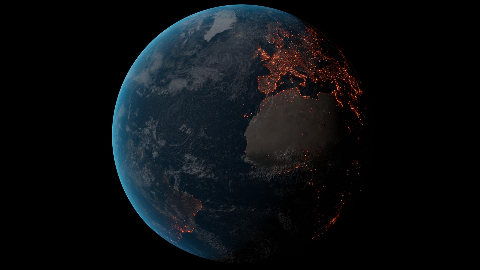 3six5 digital globe