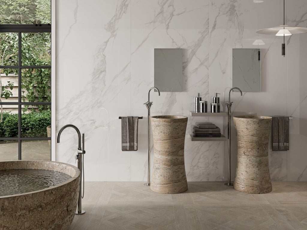 What is the best size porcelain tile for my bathroom? Read our guide to find out