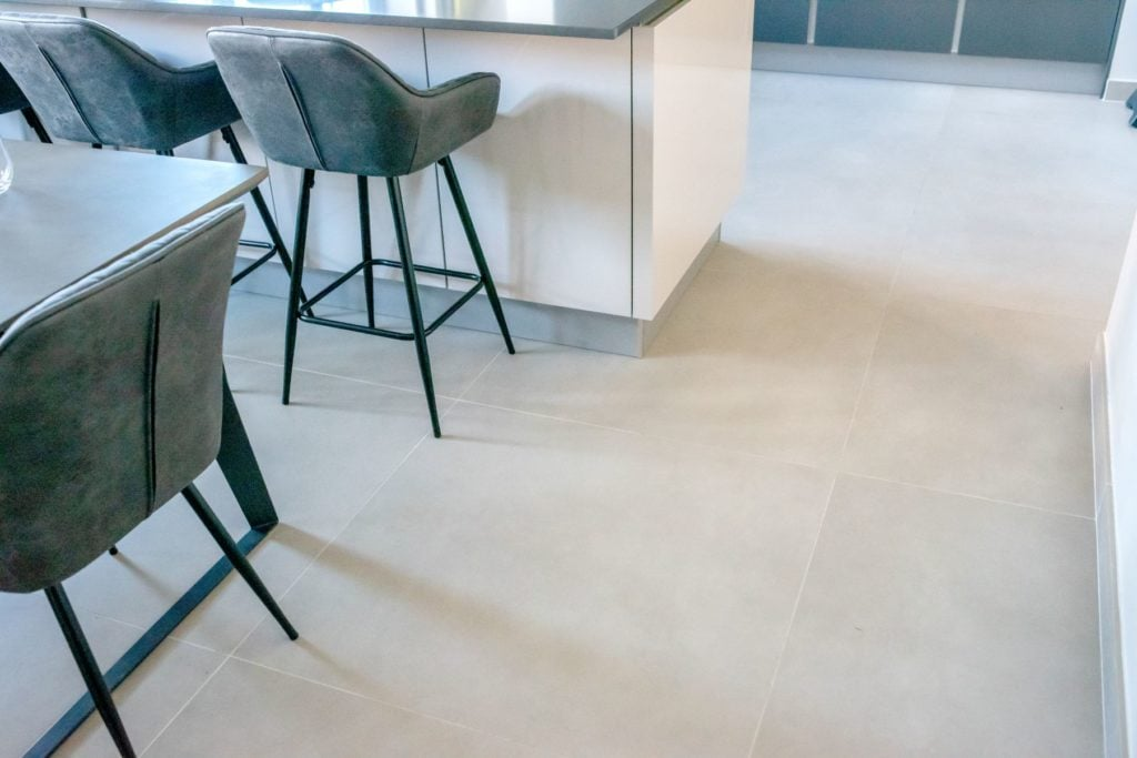 Read the happy review one customer gave us after their tile installation.