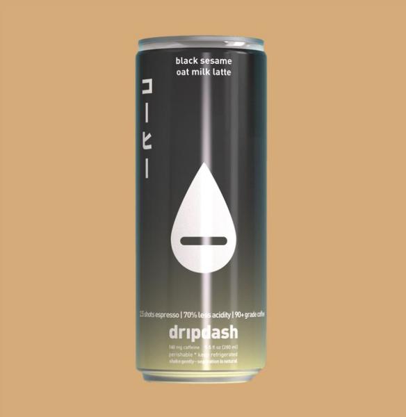 black sesame + oat milk latte (x12)