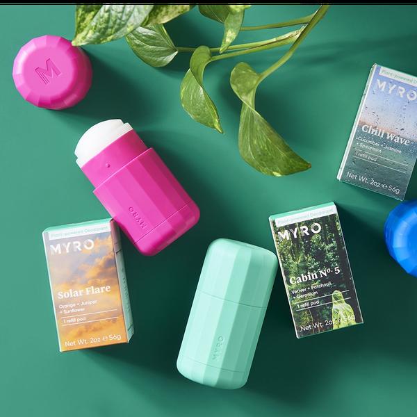 Myro™ Chill Wave Refillable Deodorant