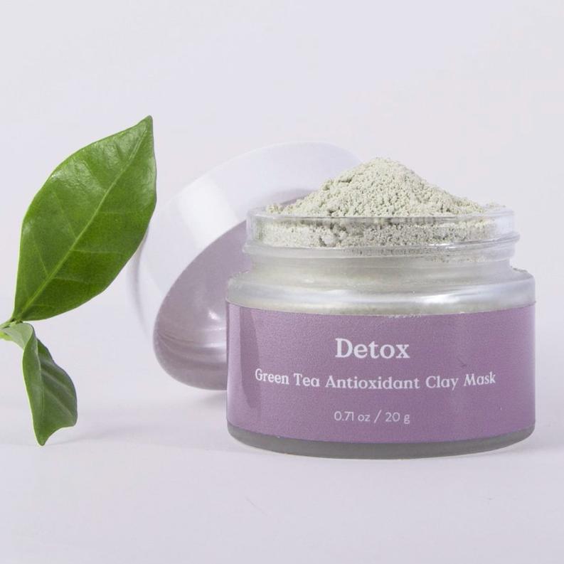Green Tea Antioxidant Clay Mask