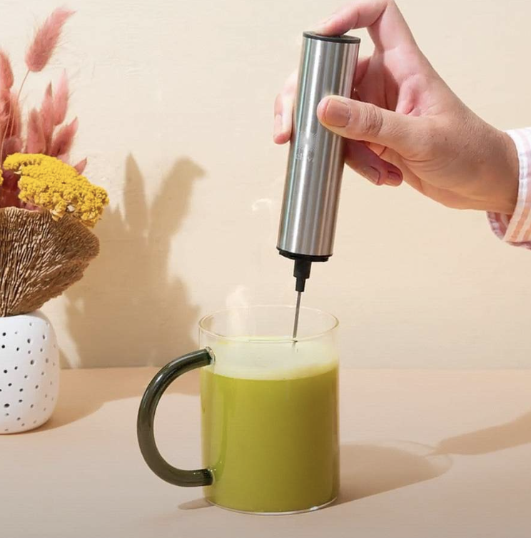 Frother for Perfect Latte Prep
