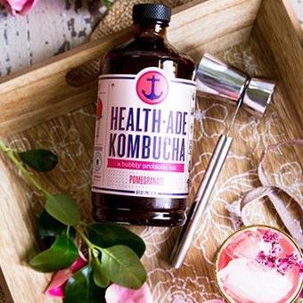 Pomegranate Kombucha - 12 Pack
