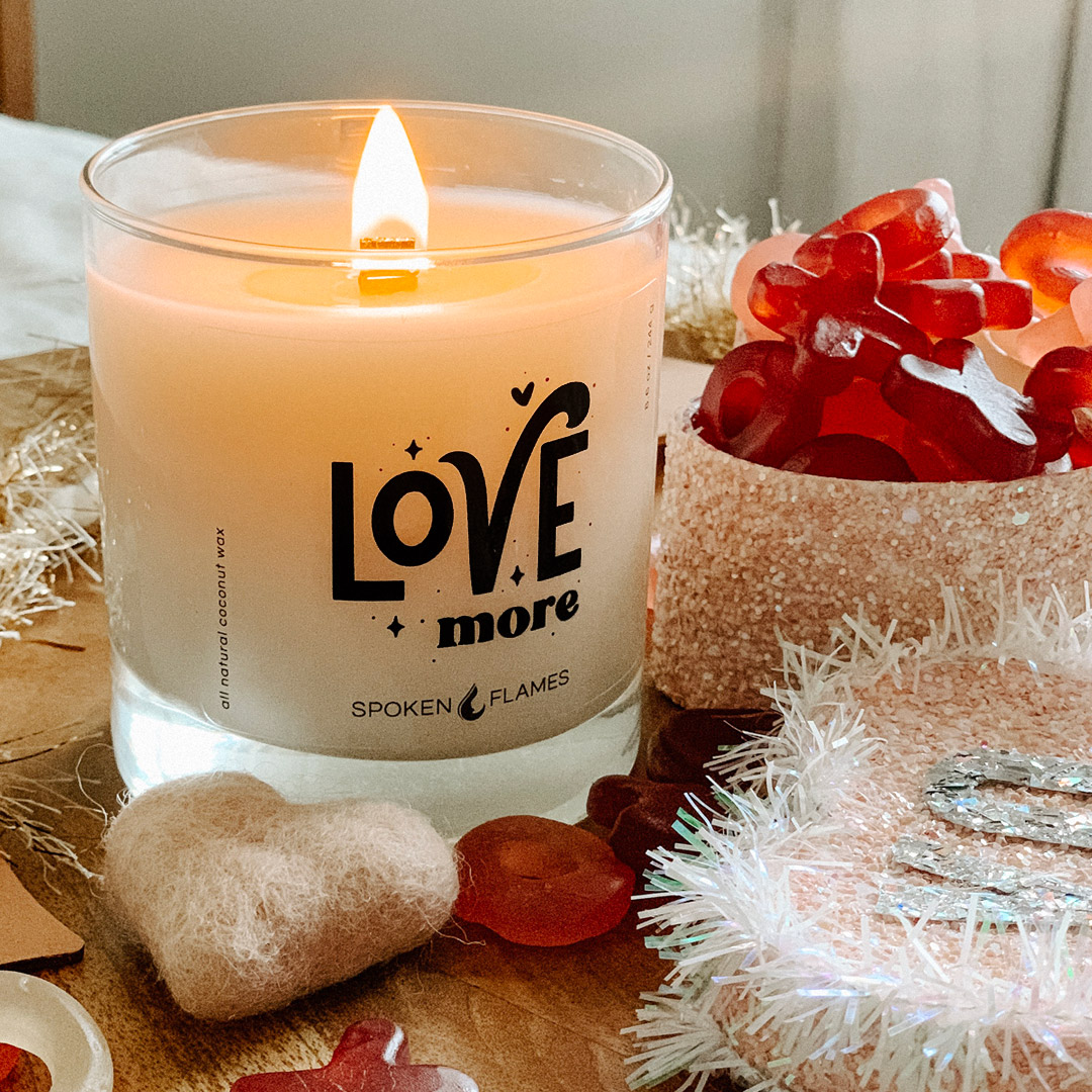'Love More' Candle