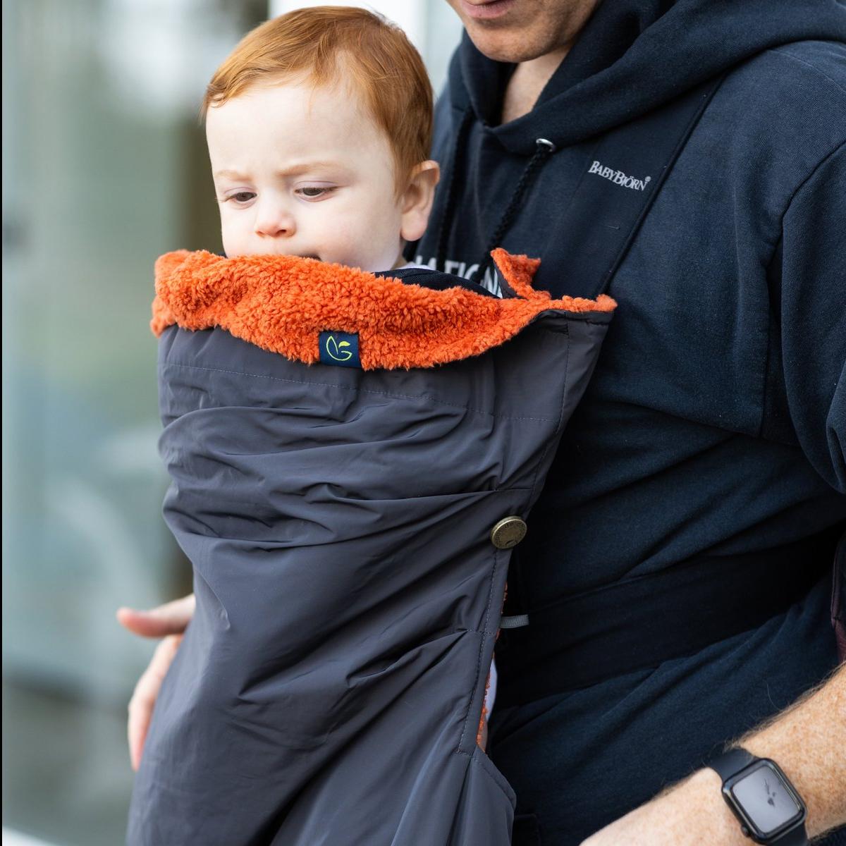Fleece Cocoon Baby Carrier Cover