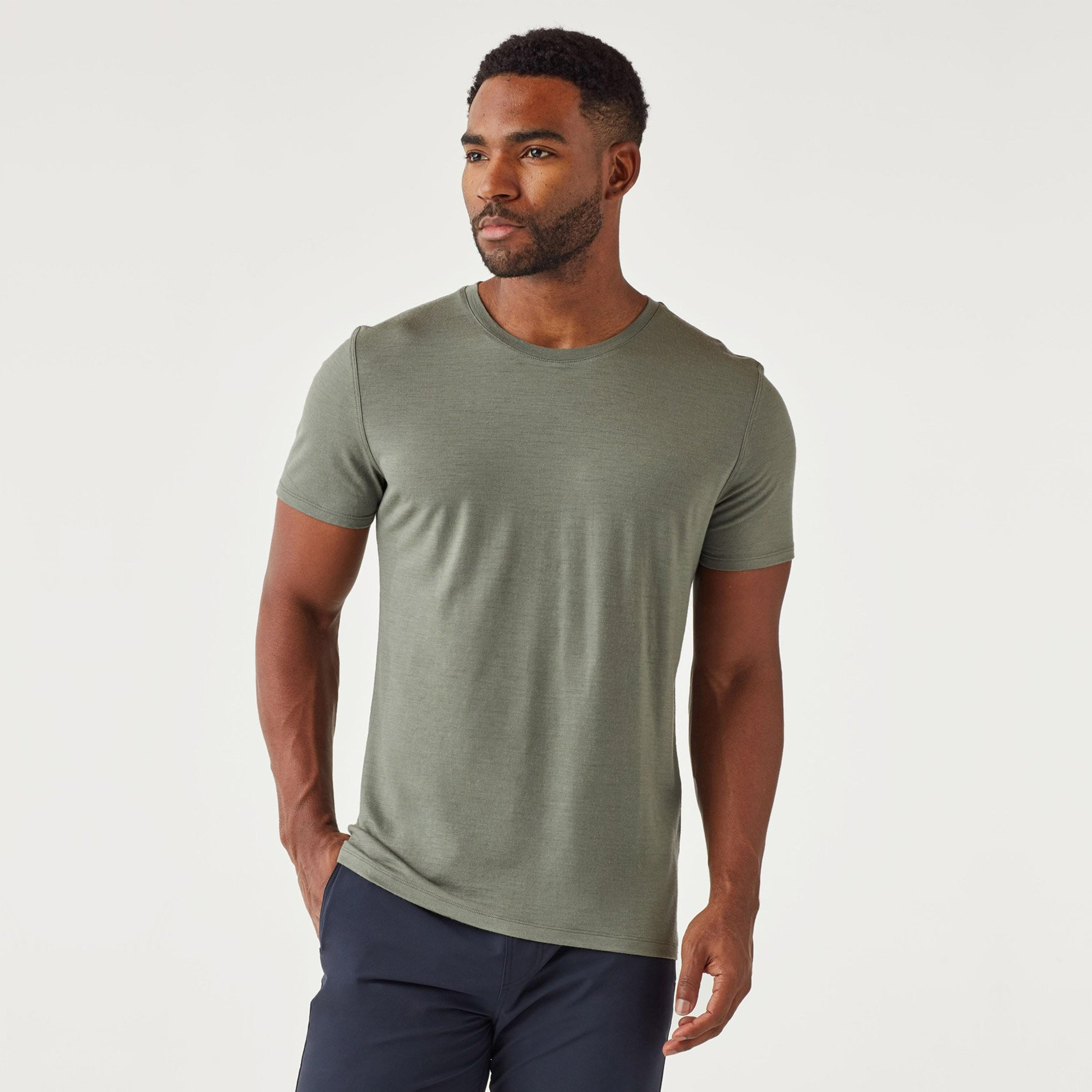 Convoy Tee in Sage