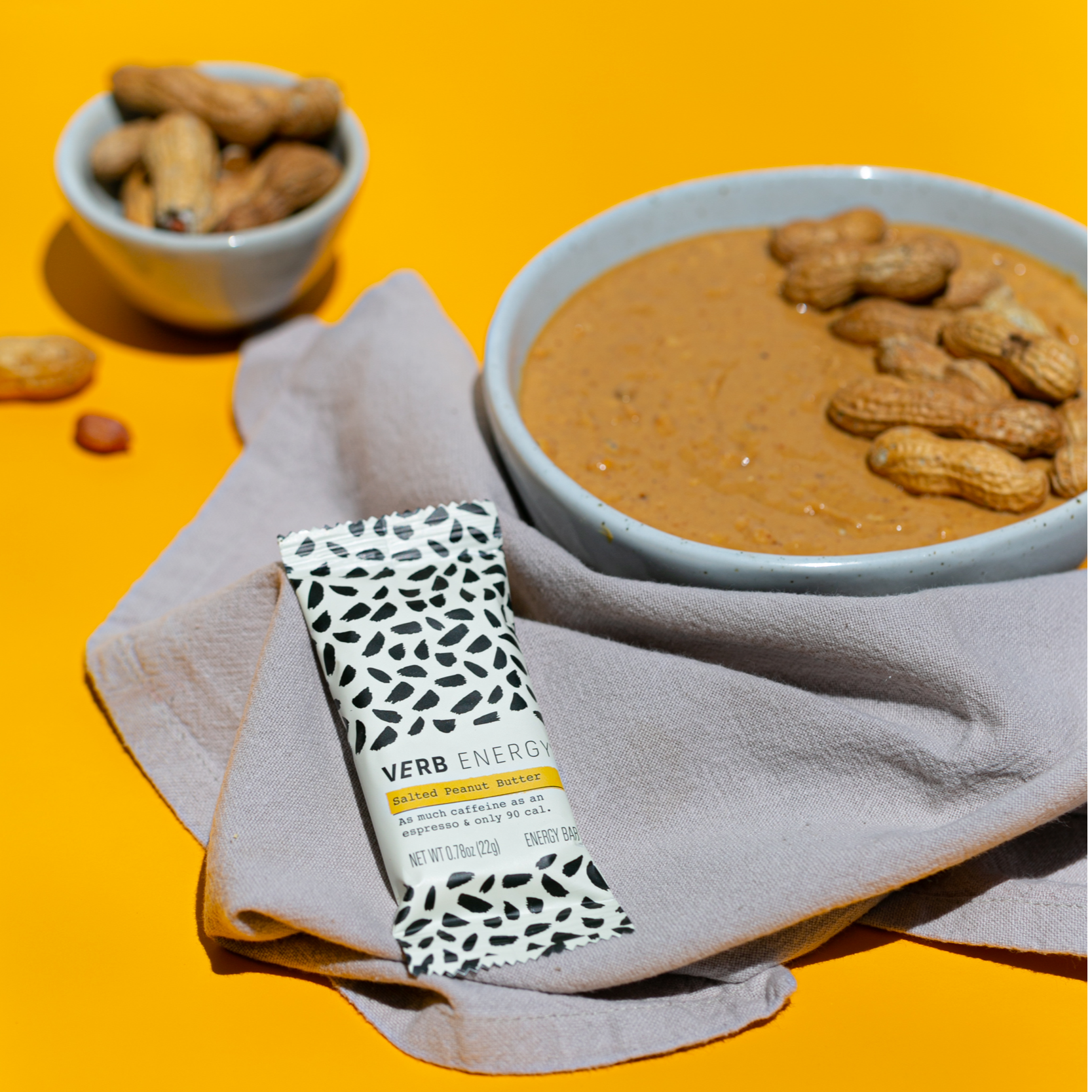 Salted Peanut Butter Energy Bars