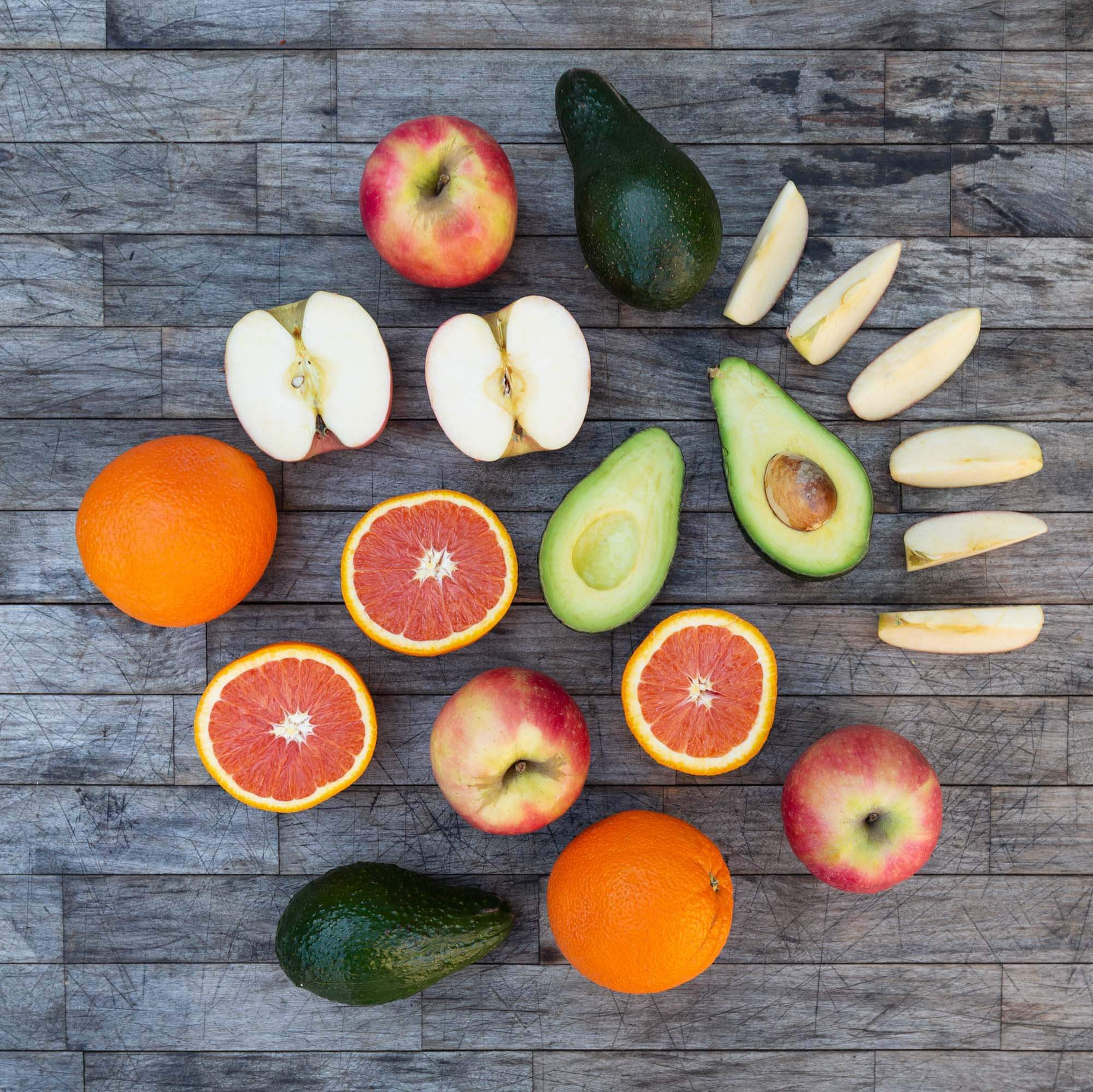 Organic Mixed Fruit