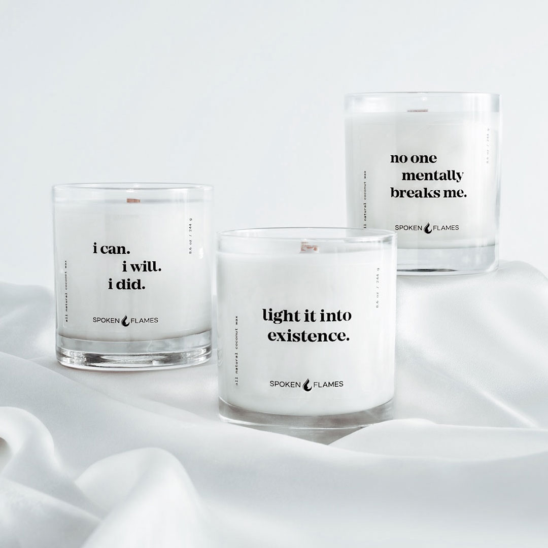 Straight Facts Candle Trio