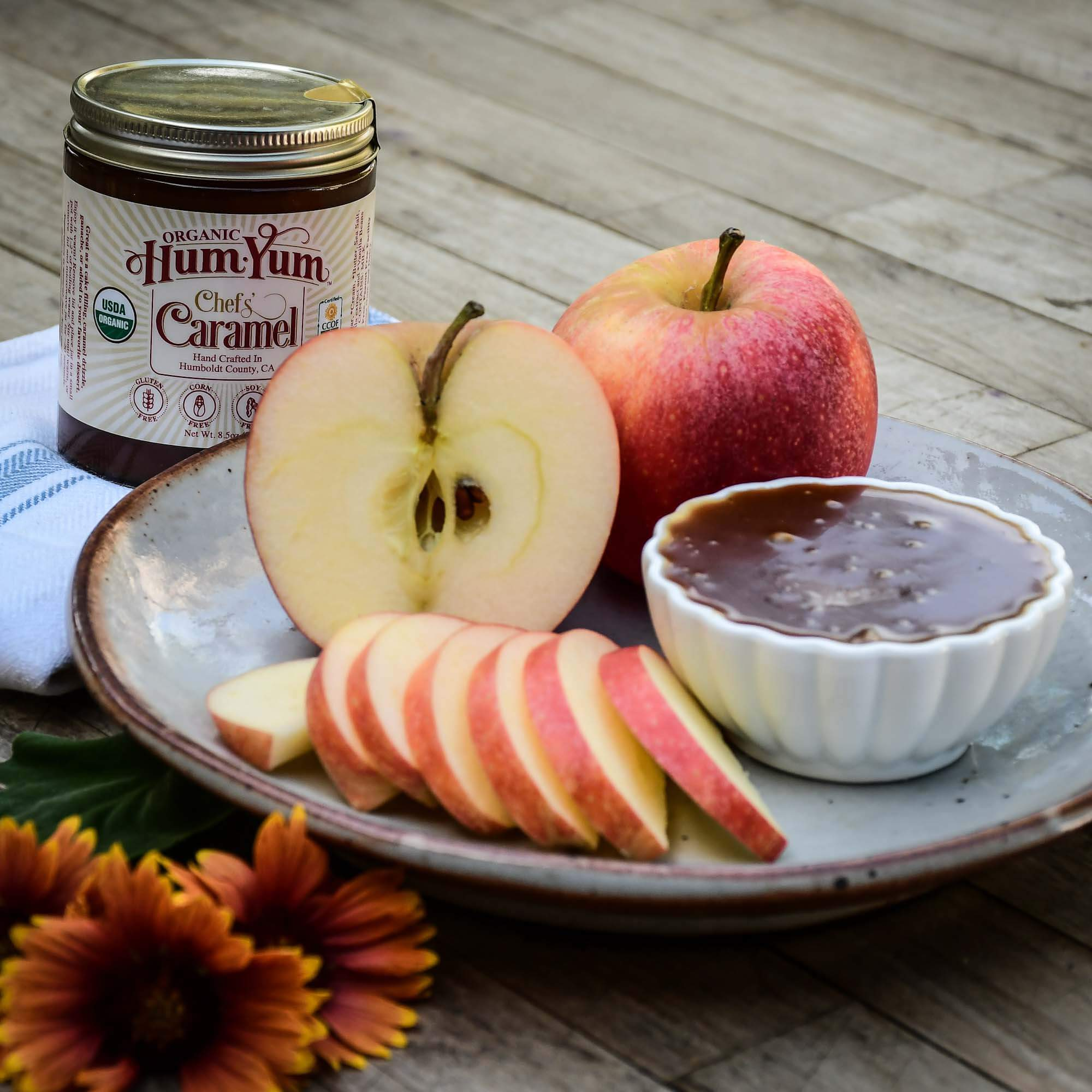 Apples & Caramel Box