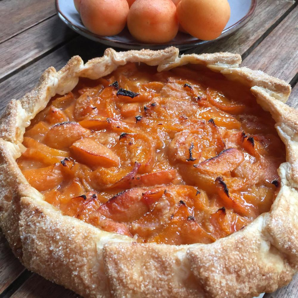 Apricot Galette