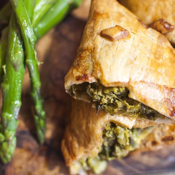 Asparagus & Green Garlic Empanadas