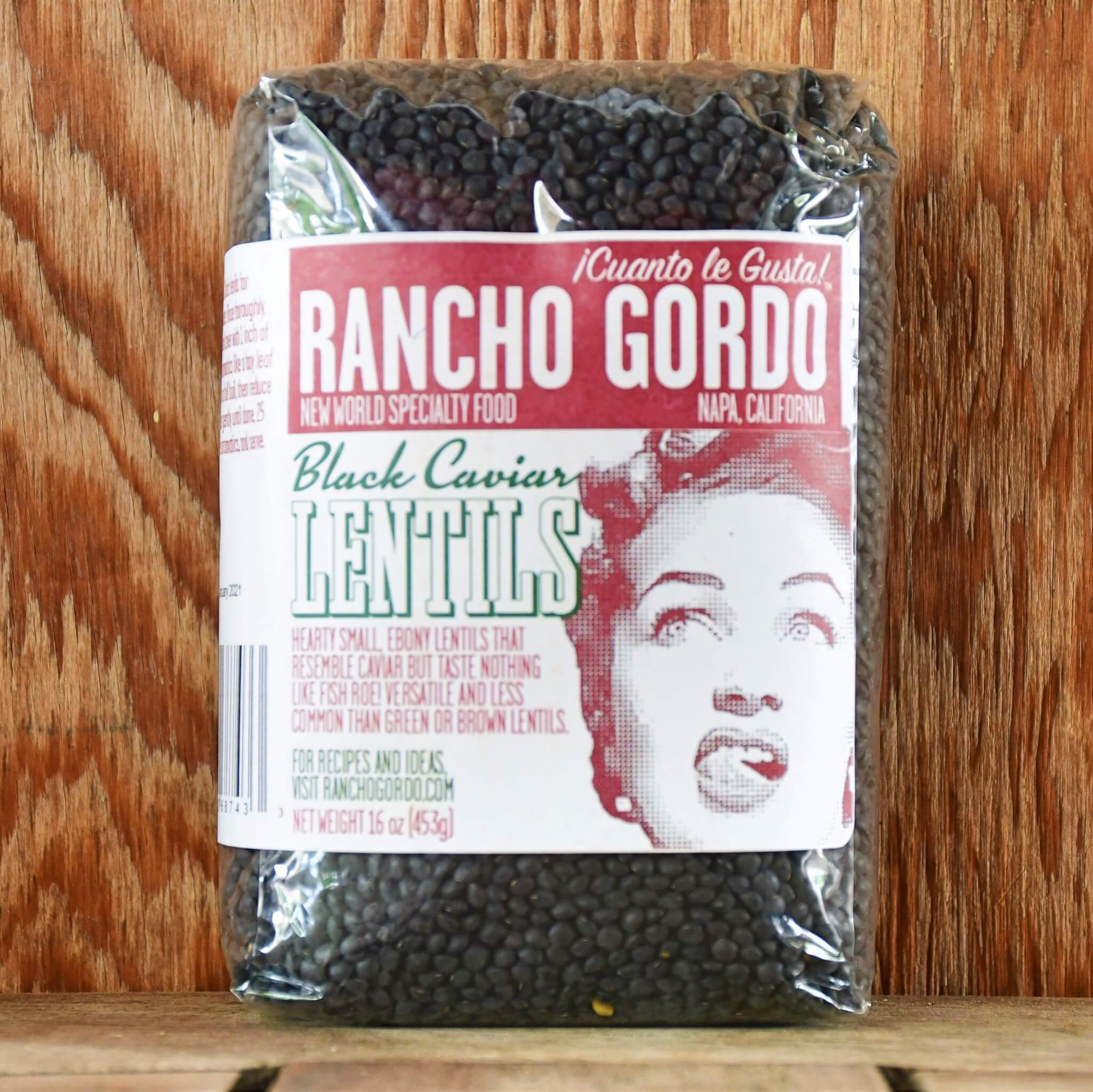 Black Caviar Lentils