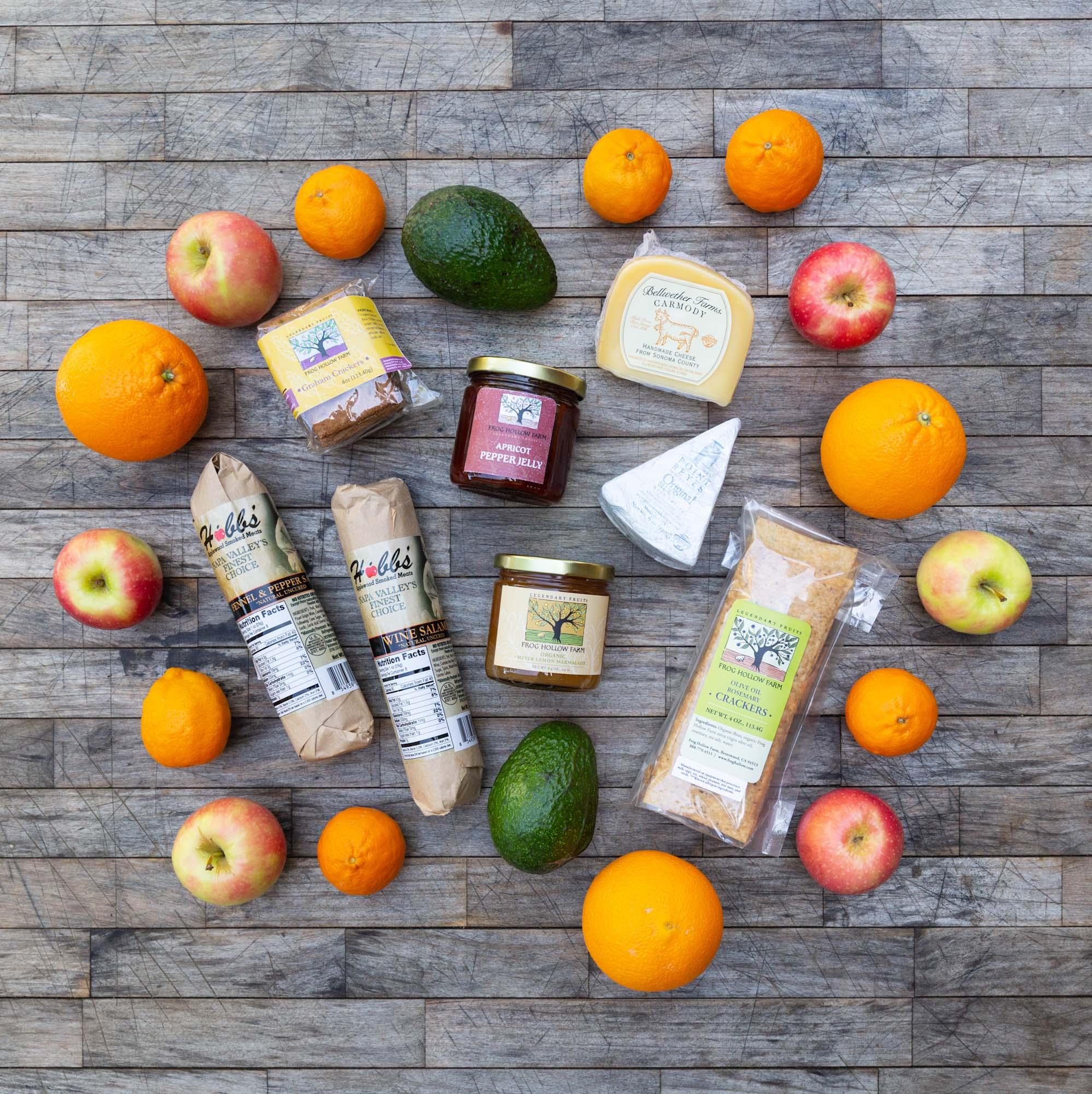 Charcuterie, Cheese & Fruit Box