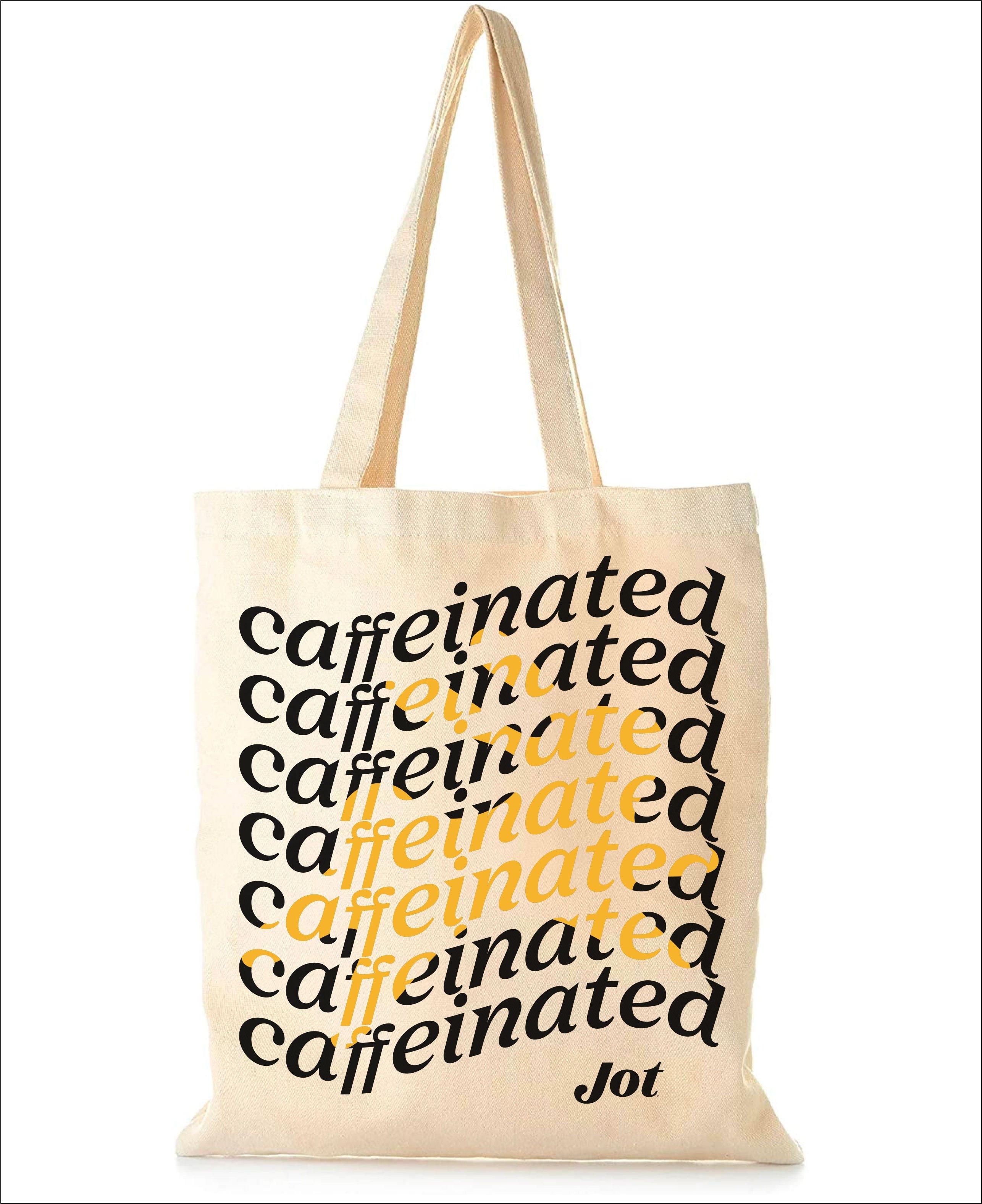 Caffeinated Tote