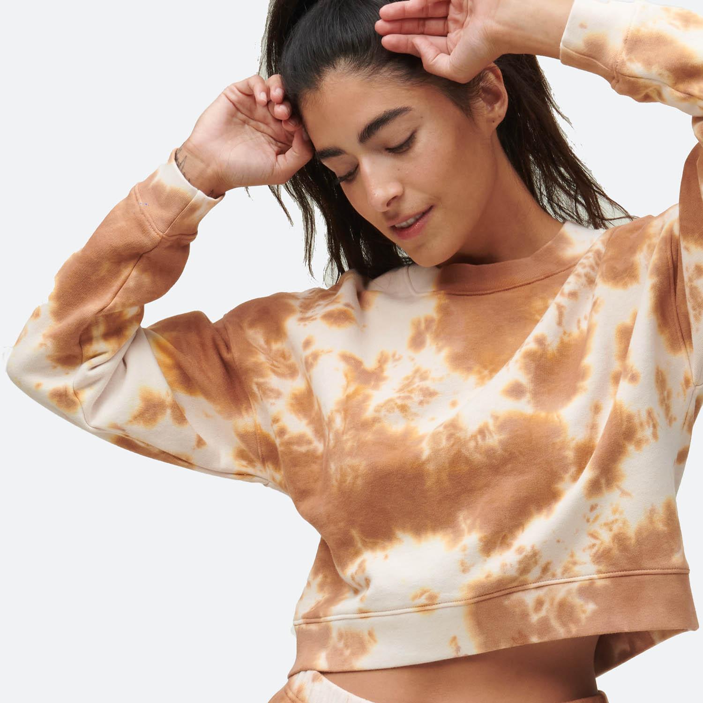 Fleece Crop Sweatshirt