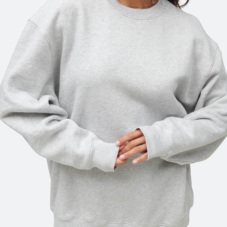 Fleece Oversized Sweatshirt