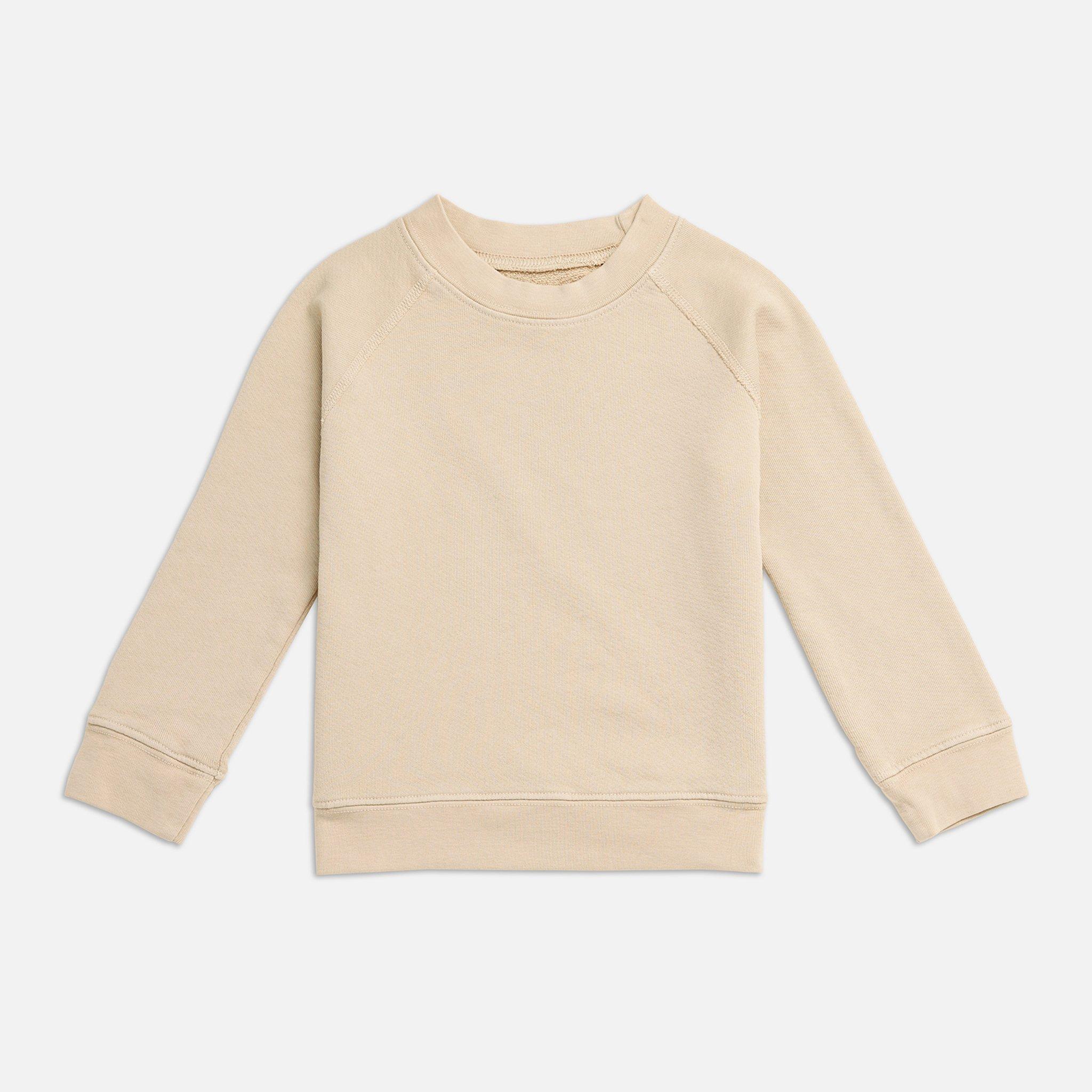 Mini Organic Terry Raglan Sweatshirt