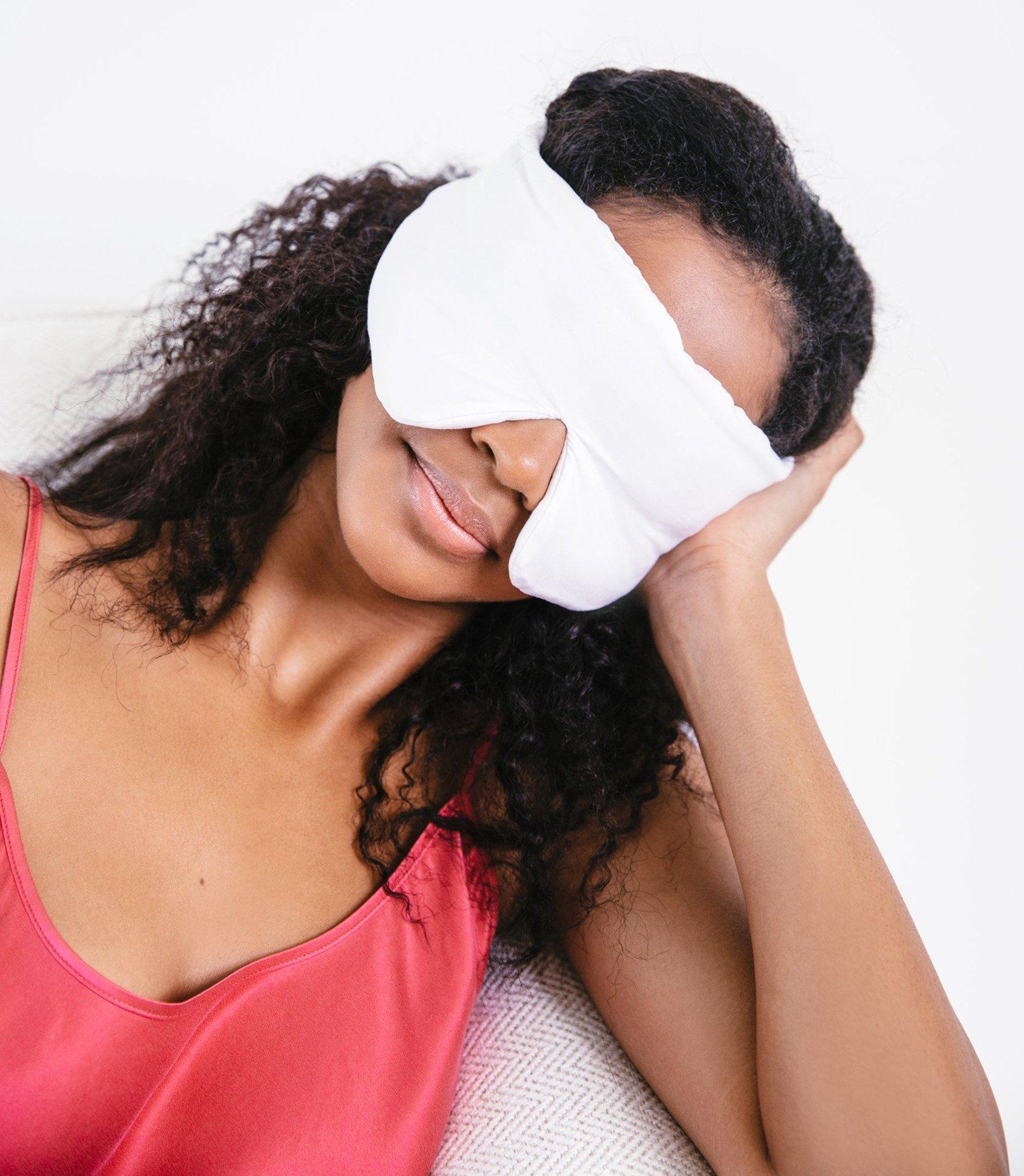 Crystal Powered Sleep Mask