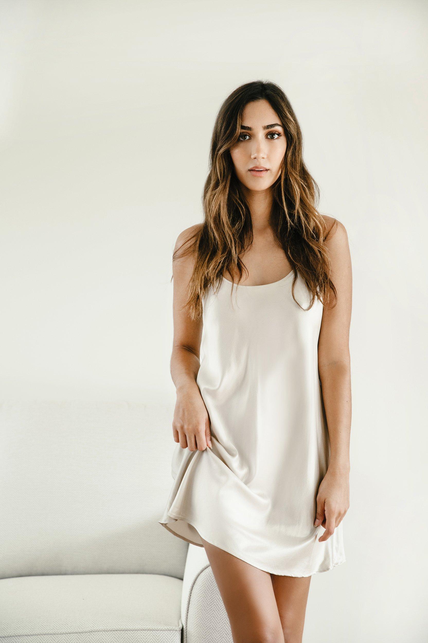 Washable Silk Sleep Dress