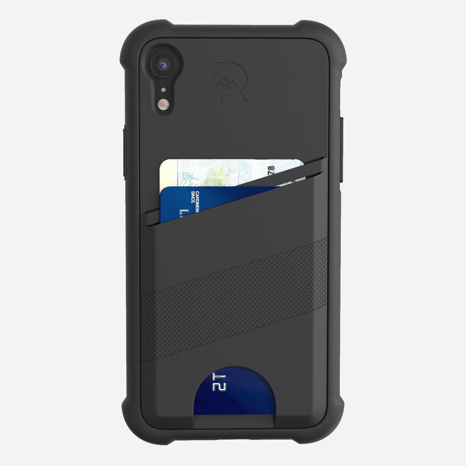 The Shockproof Card Case - iPhone XR