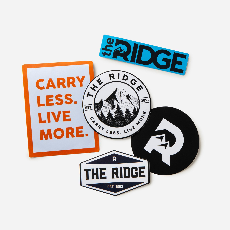 The Ridge Sticker Pack