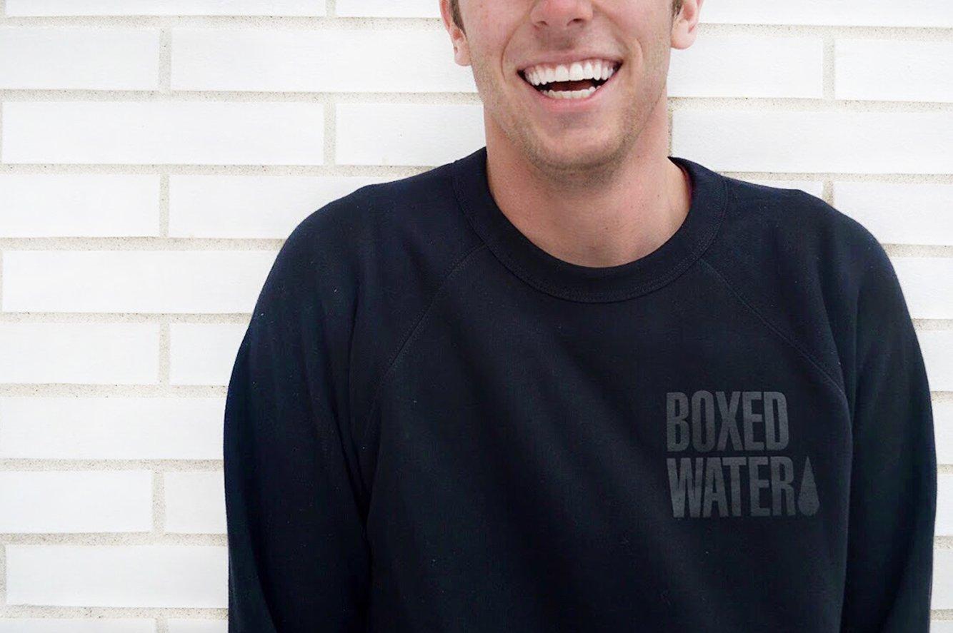 Boxed Water Crewneck Sweatshirt