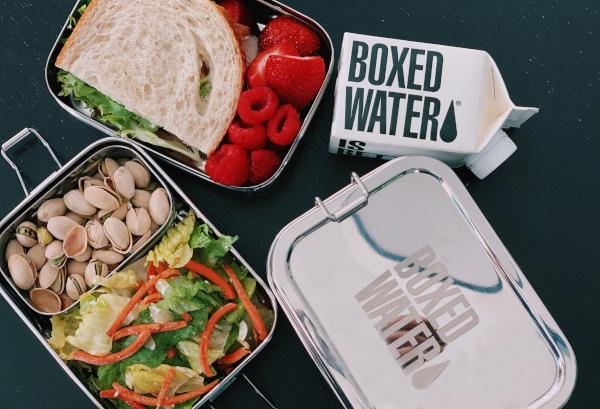 Boxed Water Lunchbox